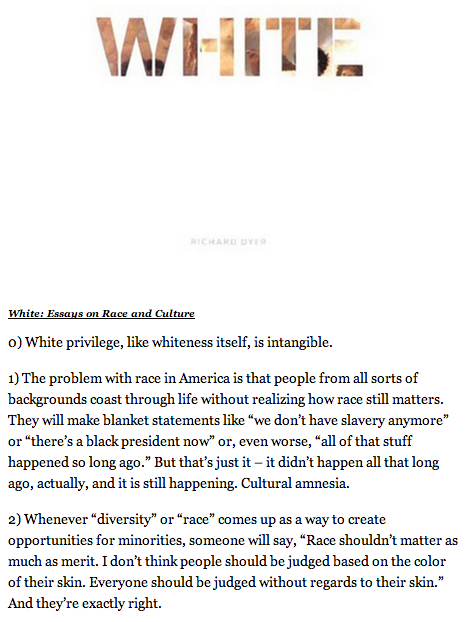 white essays on race and culture White: essays on race and culture [richard dyer] on amazoncom free shipping on qualifying offers white people are not literally or symbolically white nor are they uniquely virtuous and pure.